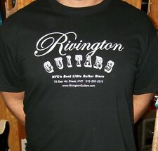 Rivington Guitars ''Best Little Guitar Shop in NYC'' T-Shirts S M L XL XXL Nice!