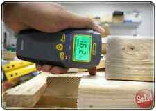 MOISTURE METER DETECTOR DIGITAL CHECK LEVELS IN WOOD CARPET CONCRETE PIN TYPE