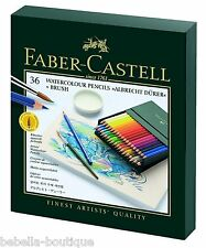 Faber-Castell Watercolour Pencils Albrecht Dürer Studio Box Set of 36 + BRUSH
