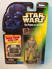 STAR WARS POTF CAPTAIN PIETT ACTION FIGURE w/ FREEZE FRAME SLIDE KENNER MOC