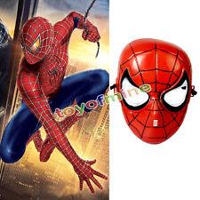 Superhero Kids Children spider man Avenger Costume Mask Halloween Party Toy