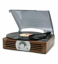 Jensen 3-speed Stereo Turntable With Am/fm Stereo Radio - 33.33, 45, 78 Rpm