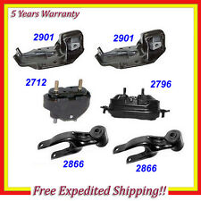 1995-2005 Chevrolet Lumina/ Monte Carlo Engine Motor & Trans.Mount Set 6PCS M662