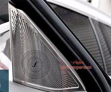 S/Steel Door Stereo Speaker chrome cover trim For Benz E W212 2010+ Except 2door