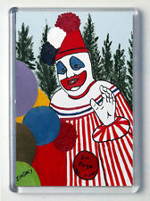 John Wayne Gacy Brand New Large Fridge Magnet #4 Art Painting Serial Killer