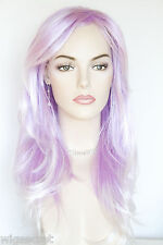 Calypso Long Straight Costume Wigs Striking Combinations of Fun Colors