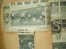 1966 World Cup Press Cutting- It's One That Got Away Charlton Bresk Though !....