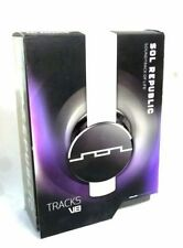 SOL Republic Tracks V8 Wired On Ear Headphones White 1211-02 WORLDWIDE FREE SHIP