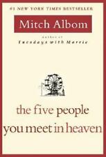 The Five People You Meet in Heaven Albom, Mitch Paperback