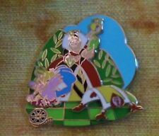 Disney Classic Alice in Wonderland Queen Of Hearts card flamingo pin LE 2000