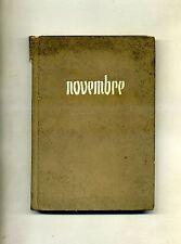 Gustave Flaubert # NOVEMBRE # Alessandro Minuziano Editore 1945