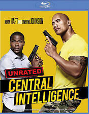 NEW GENUINE WB USA BLU RAY + HDUV DWAYNE JOHNSON CENTRAL INTELLIGENCE 1STCLS S&H