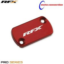 NEW RFX HONDA RED FRONT BRAKE RESERVOIR CAP COVERS CRF450 2004 - 2008