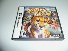 Nintendo DS Zoo Tycoon 2 - 2008 - Complete - Very good