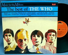 LP THE WHO - THE BEST OF // TOP RARE DUTCH PRESSING MINT-