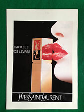 (PCA57) Pubblicità Advertising Ads Werbung YVES SAINT LAURENT ROSSETTO
