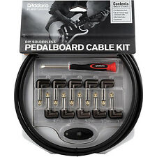 Planet Waves Cable Station Guitar Effect Pedal Solderless Patch Cable Kit - NEW!