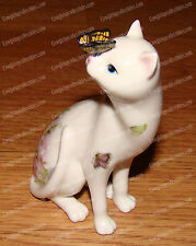 16658 - Butterfly on Cat's Nose (Kitty Kats by Westland) Porcelain, Retired