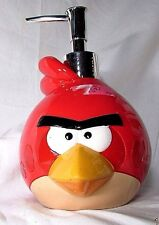 ANGRY BIRDS-RED CERAMIC SOAP / LOTION Pump DISPENSER