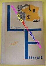 book libro T.A.Ougrimova EN 7e FRANCAIS 1975 francese bulgaro (L38)