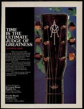 1978 TIME ULTIMATE JUDGE OF GREATNESS ALVAREZ-YAIRI GUITAR AD
