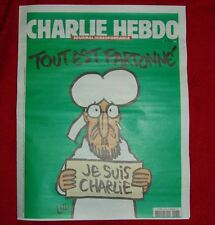 ORIGINAL Charlie HEBDO Je suis Charly Paris Erstausgabe 14.01.2015 1178 Mohamed