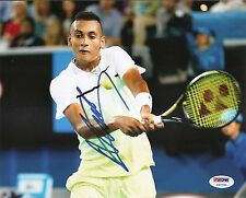 Nick Nicholas Kyrgios Wimbledon Tennis Signed Auto 8x10 PHOTO PSA/DNA COA