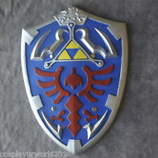 Legend Zelda Link Hylian Twilight Princess Master Tri Force Foam Shield Cosplay