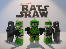 Lego star wars minifigures-clone custom troopers-commandant doom set