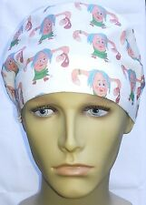 SURGICAL SCRUB HAT THEATRE CAP UTERUS JUDY THE UTIE COMFORT HAT CORD LOCK