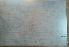 Atlanta 30 Mile Radius GA Laminated Wall Map (K)