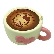 Kawaii Squishies - Sanrio (Rare) Hello Kitty Latte - White