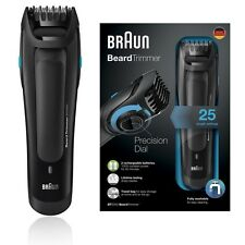 Braun BT5050 Precision Mens Travel Worldwide Beard Trimmer 25 Length & Washable