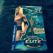 WWE/WWF RINGSIDE EXCLUSIVE ELITE COLLECTION FLASHBACK THE ROCK