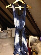 Firetrap Rock And Rags XS Small 8 Blue Tie Dye Dress Hi Low