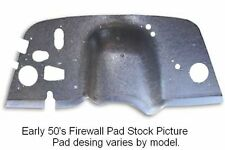 1948 1949 Willys Jeepster Firewall Pad