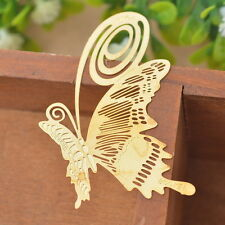 2PC Bookmarks Butterfly Chic Reading Gift Office Supplies Exquisite Art Craft