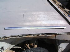 Mercedes Benz W108 Left Front Door Exterior aluminum Trim under window OEM
