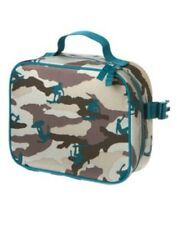 GYMBOREE CAMOUFLAGE SURF LUNCHBOX w/ CLIPS NWT
