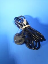 "Longwell Fused 6ft ""Mickey Mouse"" IEC-320-C13 to BS-1363/A UK Power Cord Plug"