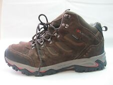 Mens Karrimor Mount Mid 7 Walking Hiking Brown Boots Uk 8.5 EUR 42.5