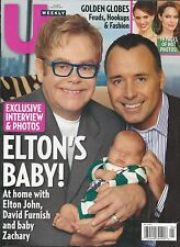 US Weekly magazine Elton John Golden Globes Hollywood trends The Bachelor