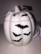 Yankee Candle BATTY BATS PUMPKIN Ceramic Electric Tart Warmer NWT