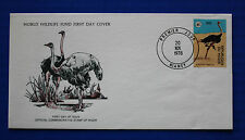 Niger (448) 1978 Ostrich WWF FDC
