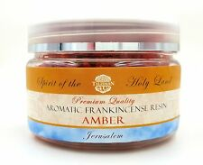 AMBER Frankincense Resin Jerusalem Aromatic Incense Premium Quality Holy Land