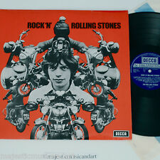 RARE BSA MOTORCYCLE COVER THE ROLLING STONES ROCKN LP ENGLAND ORIGINAL RECORD