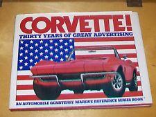 Corvette treinta años de gran publicidad. automóvil trimestralmente. 1983.