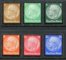 Germany Postage Stamps Scott 436-441, All but one are MNH, Superb Complete Set!!
