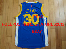 Stephen Curry Signed Adidas Golden State Warriors Jersey NBA PROOF