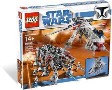 NISB LEGO STAR WARS #10195 REPUBLIC DROPSHIP WITH AT-OT WALKER; UCS; 8 MINIFIGS